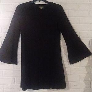 Falls Creek Bell Sleeve Shirt Dress